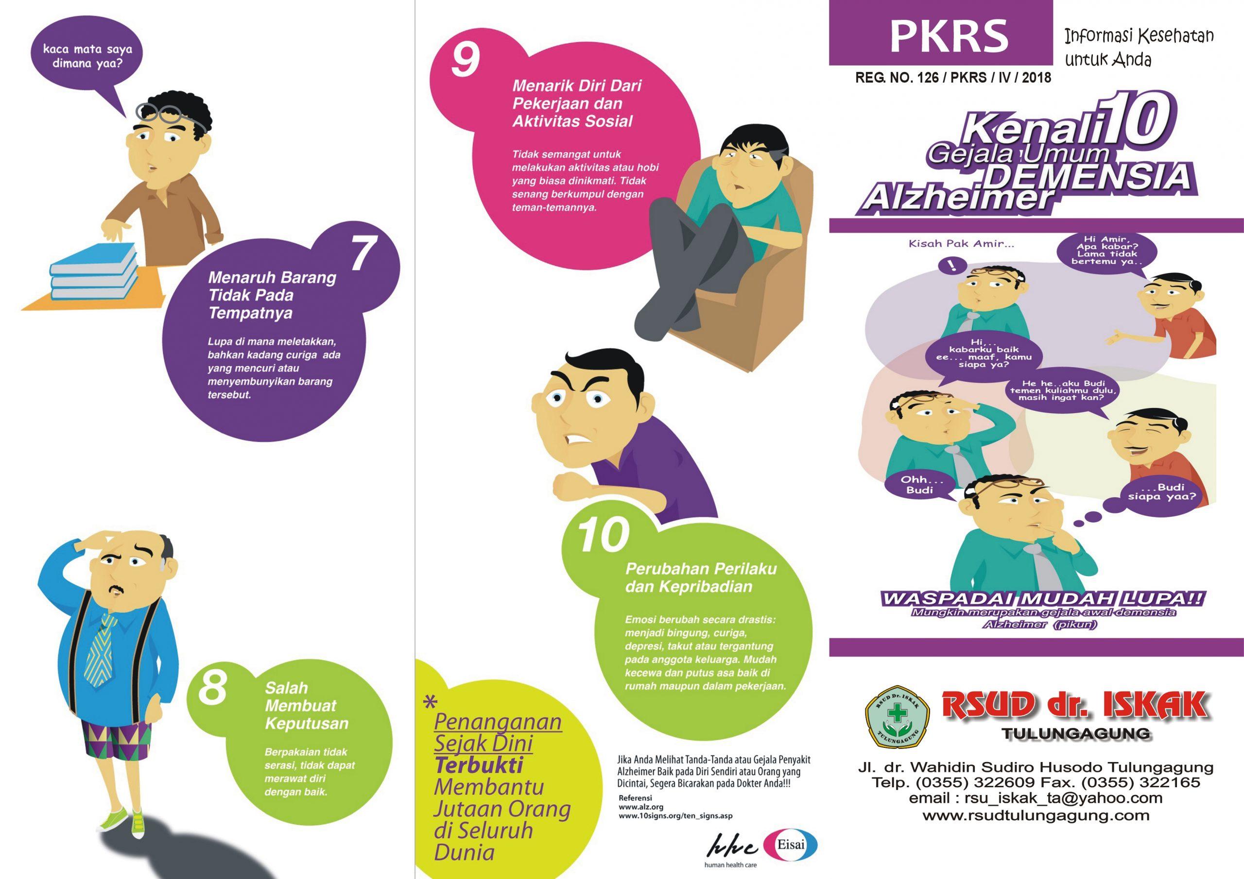 kenali 10 gejala umum demensia alzheimer