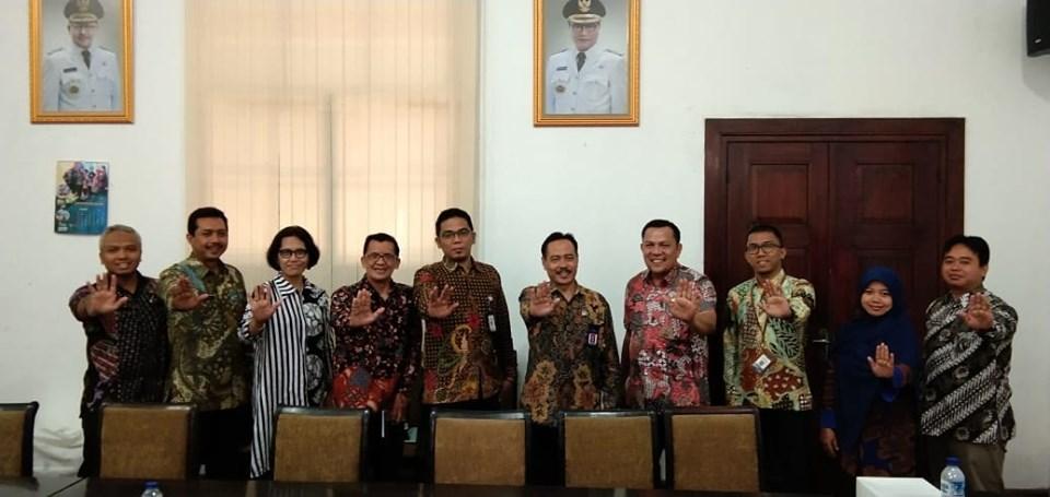 Evaluasi dari KEMENPANRB dalam pelaksanaan ZONA INTEGRITAS di RSUD Dr. Iskak Tulungagung