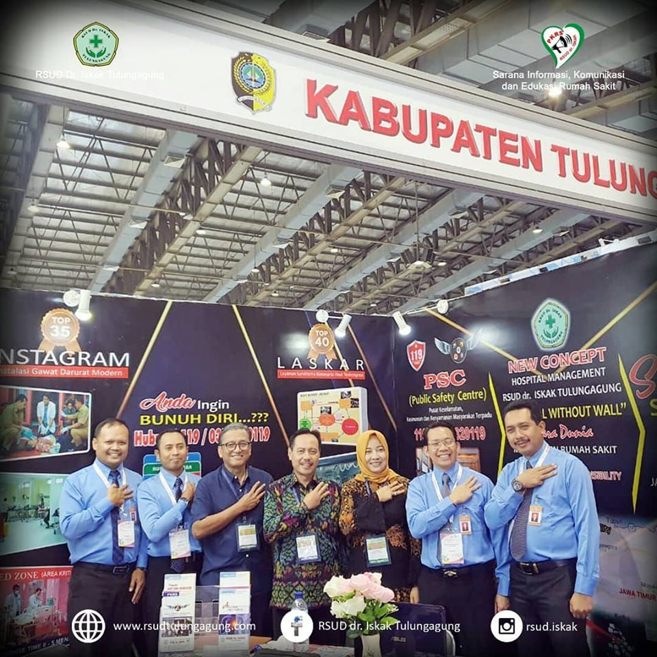 HOSPITAL EXPO 2019 - RSUD dr. ISKAK TULUNGAGUNG (day 2)