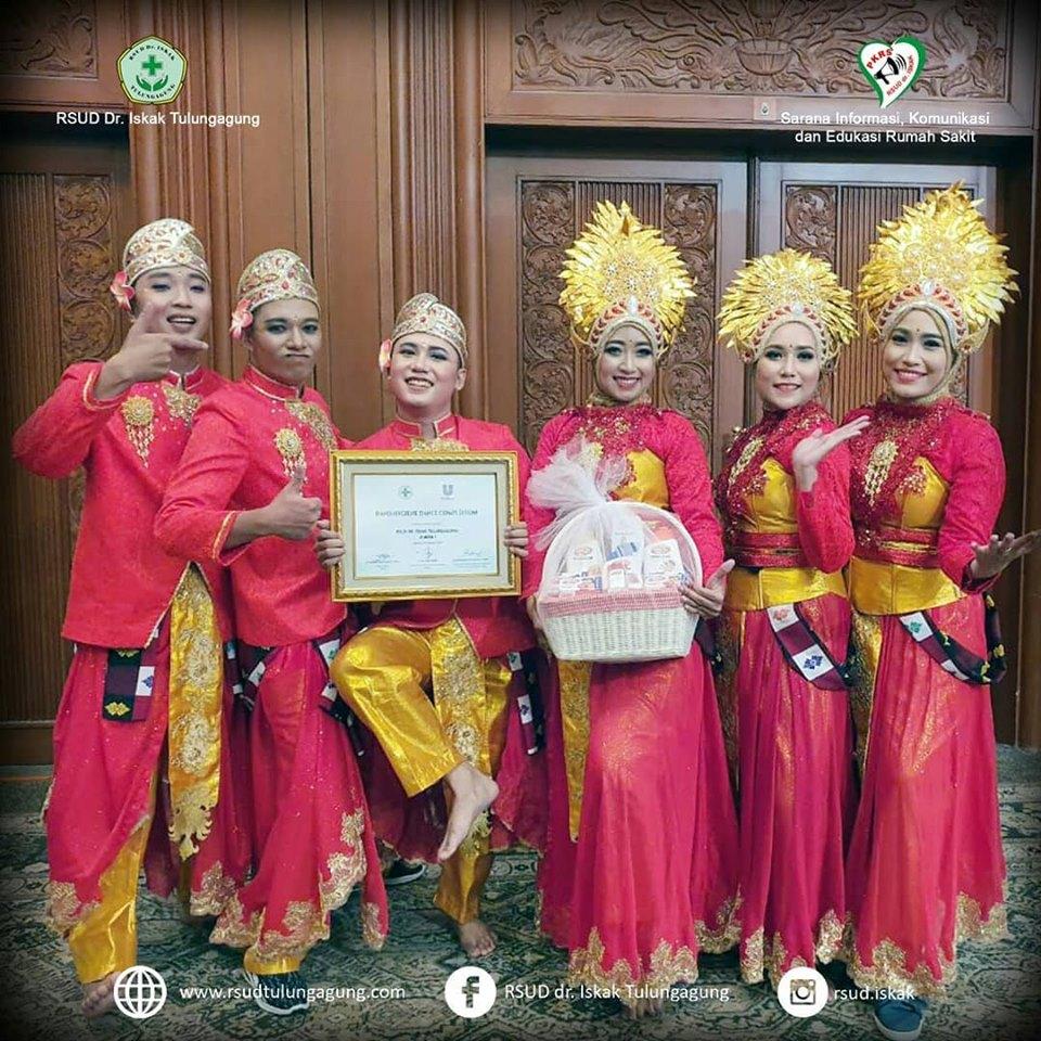RSUD Dr. Iskak Tulungagung The #1 Winner of PERSI AWARD - Lomba Dance Cuci tangan