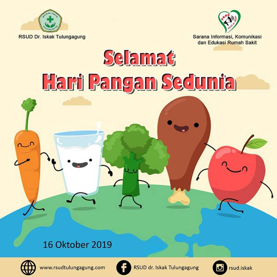 Hari Pangan Sedunia 16 Oktober 2019