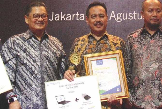 Kemandirian Berbuah Prestasi, Penghargaan BPJS Kesehatan Award 2019