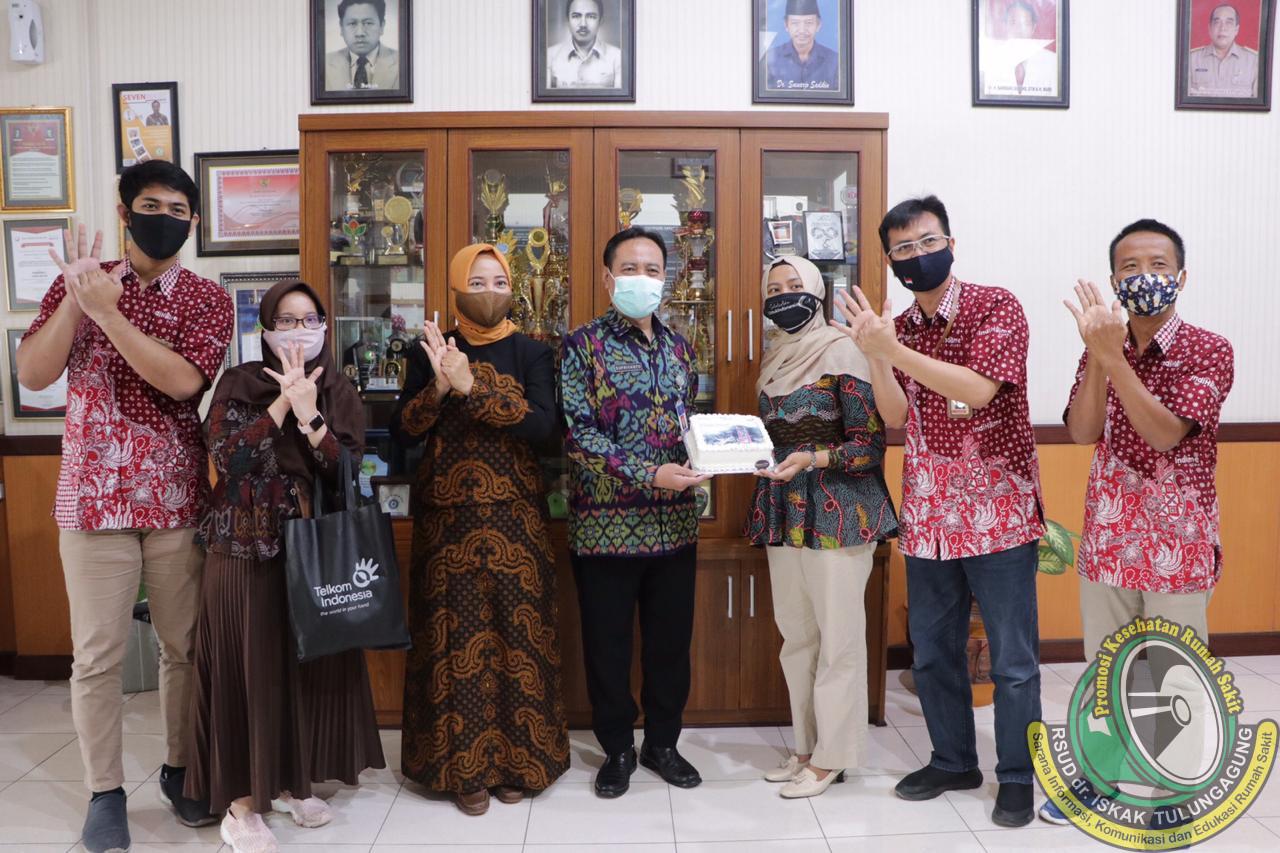 Peringati Hari Pelanggan, PT Telkom Siap Support Digitalisasi Pelayanan di RSUD dr. Iskak Tulungagung