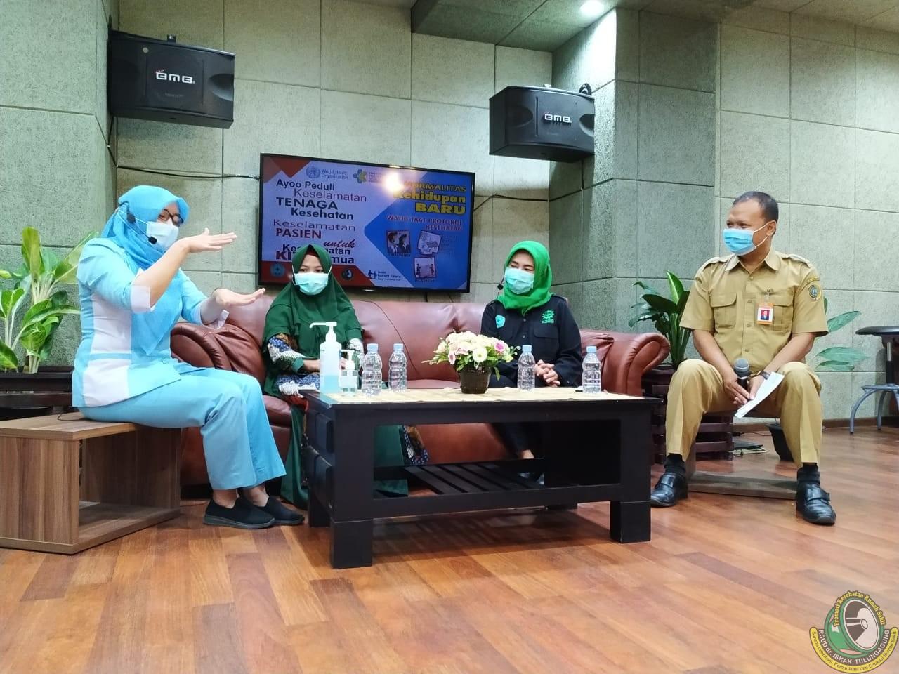 Gerakan Peduli Keselamatan Pasien dan Tenaga Kerja di RSUD dr. Iskak Tulungagung