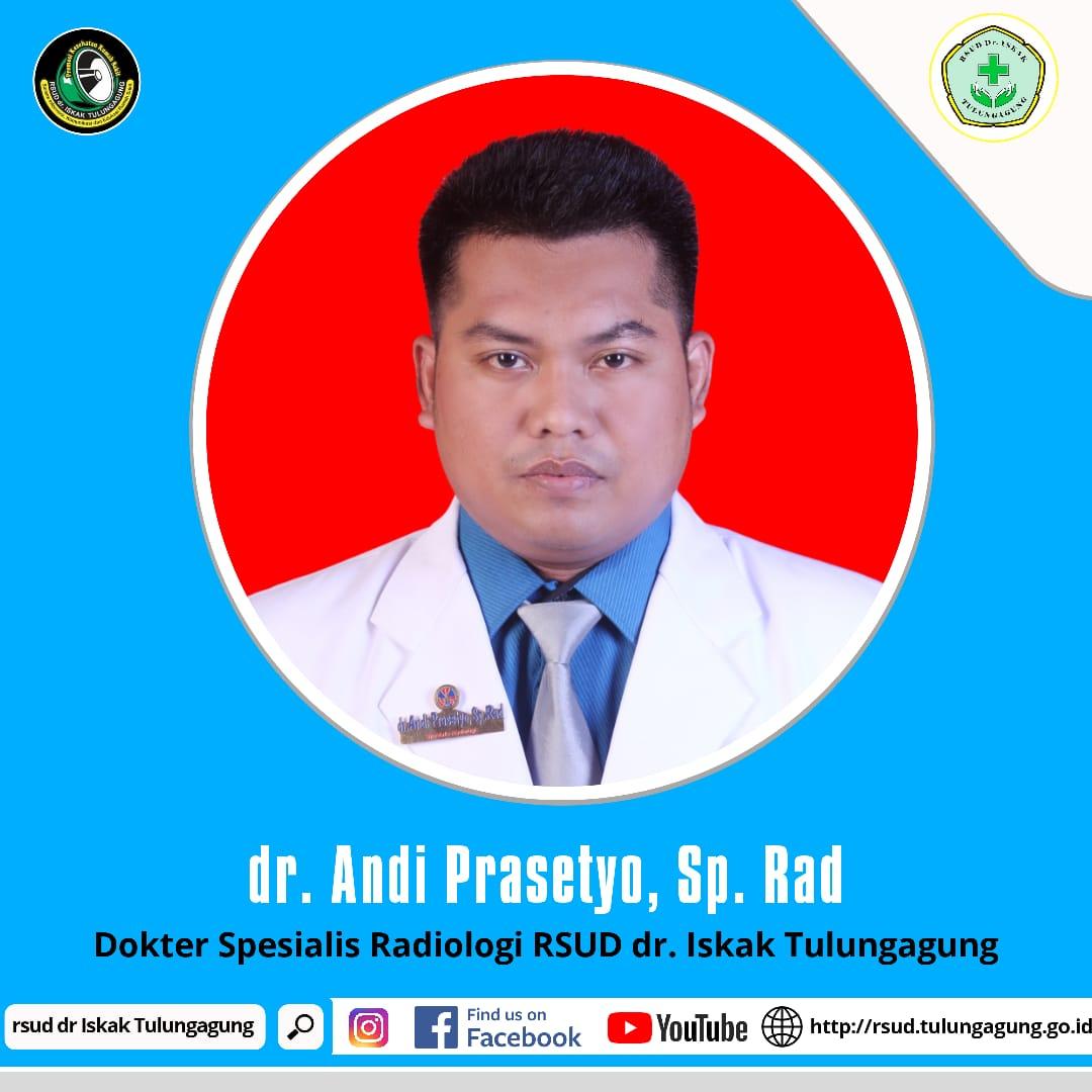 dr. ANDI PRASETYO, Sp.Rad