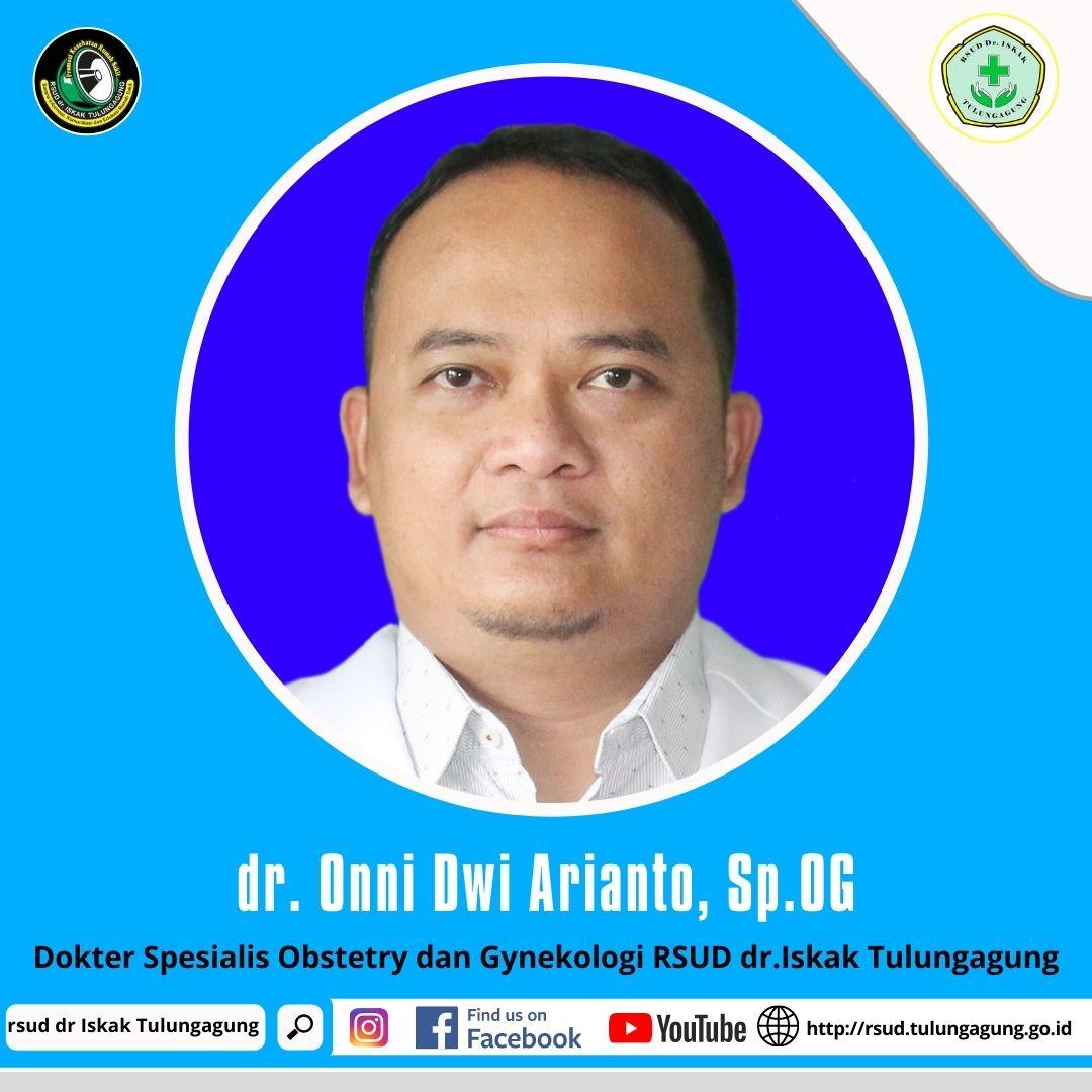 dr. ONNI DWI ARIANTO, Sp.OG