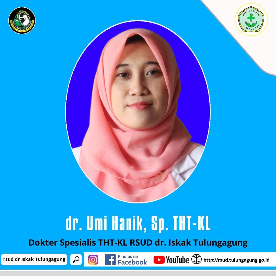 dr. SITI UMI HANIK, Sp.THT-KL