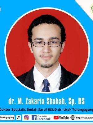 dr. M. ZAKARIA SHAHAB, Sp.BS