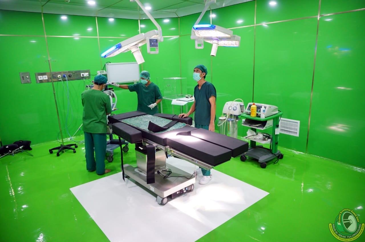 RSUD dr. Iskak Kini Miliki Ruang Operasi COVID-19 Berstandar Internasional