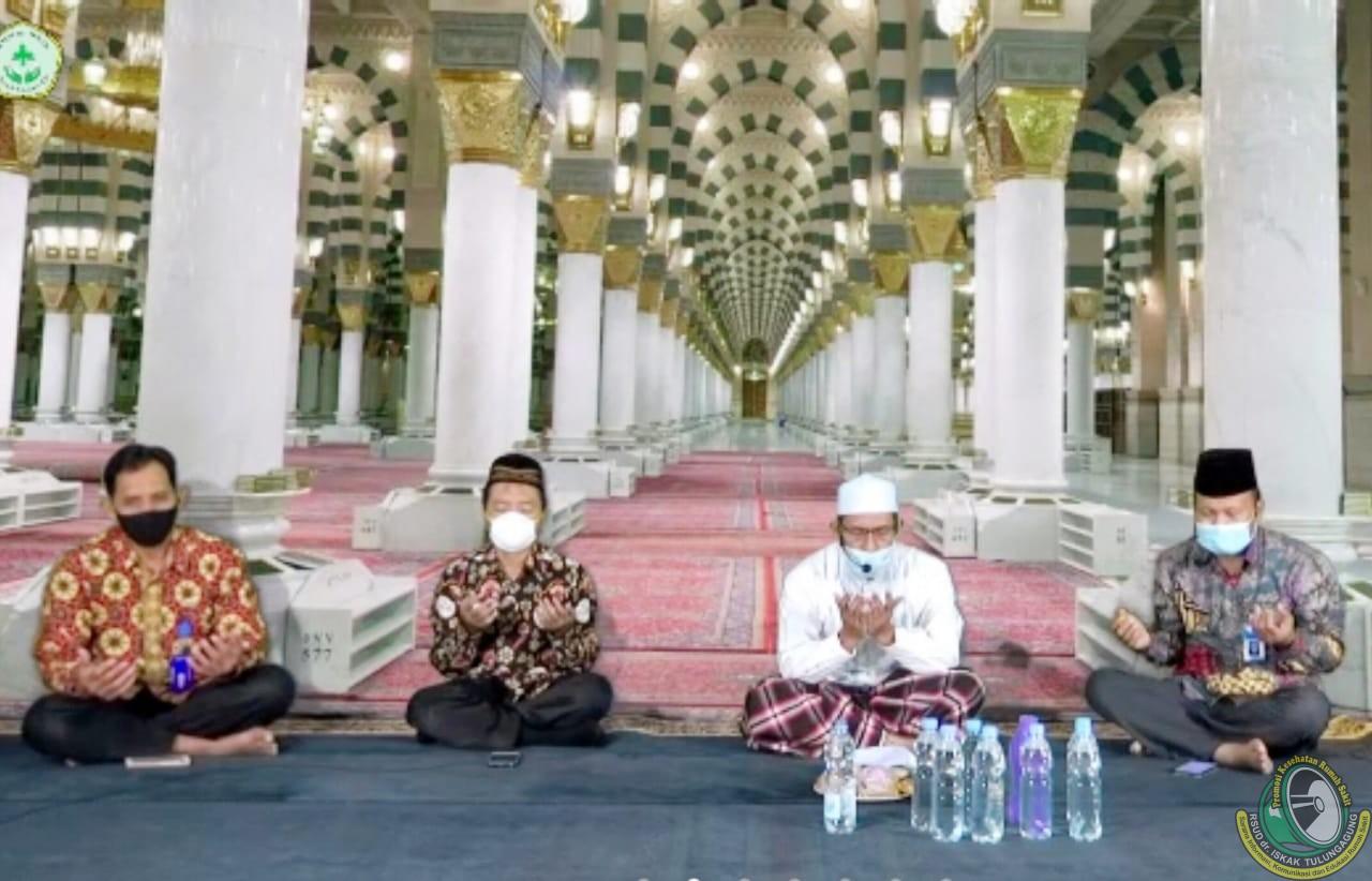 Memperteguh Kebersamaan Hadapi Covid-19, RSUD dr. Iskak Gelar Doa Bersama