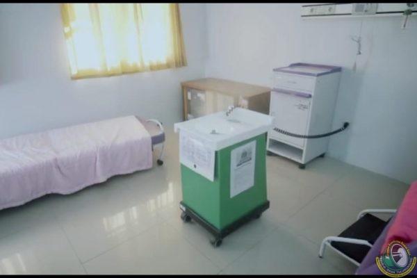 Disinfeksi Ekstra, Jaga Higienitas Ruangan RSUD dr Iskak