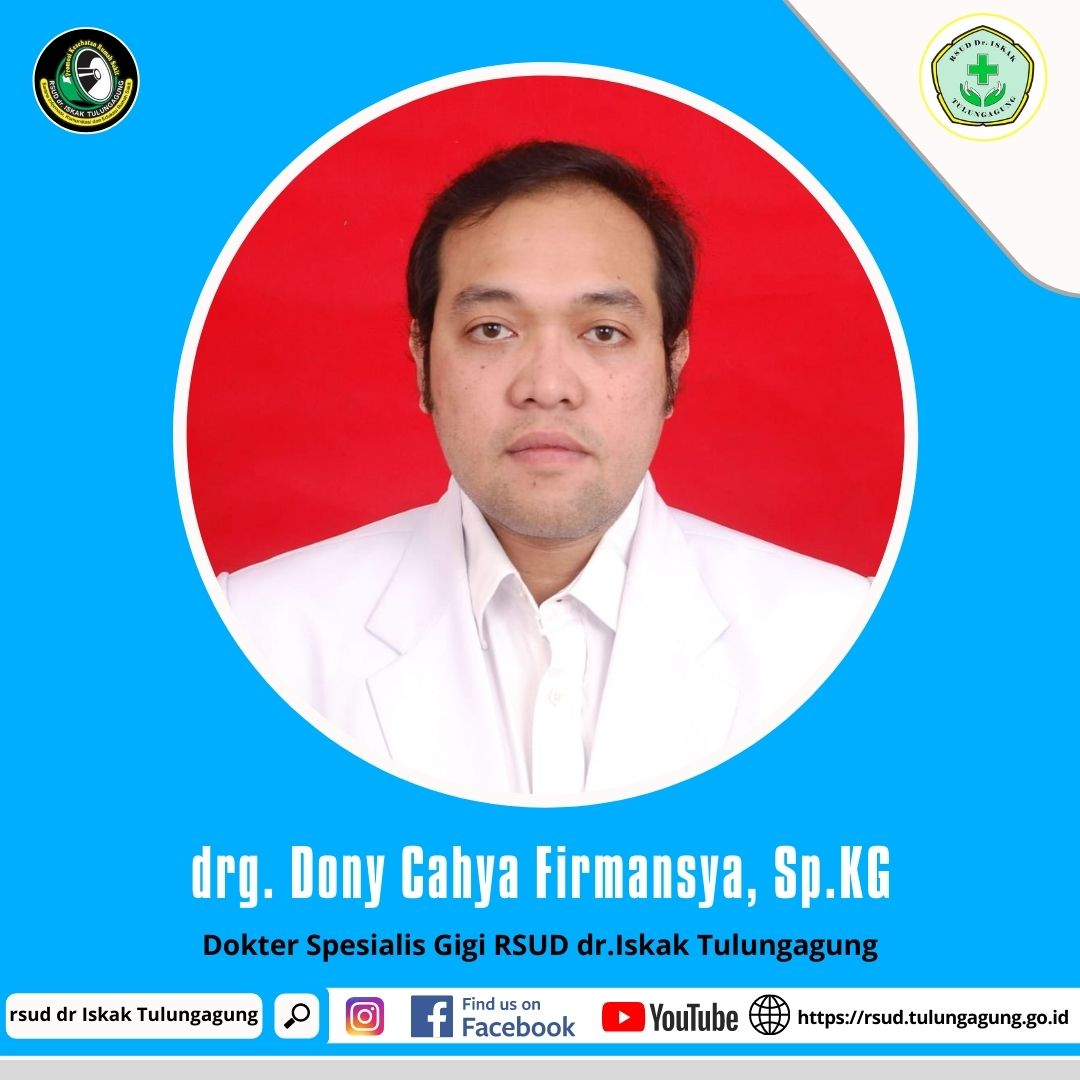 drg. DONY CAHYA FIRMANSYA, Sp.KG