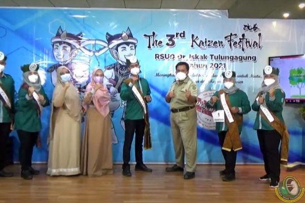 "Lahirkan ""Berjuta"" Inovasi Rumah Sakit di Festival Kaizen Ke-3"