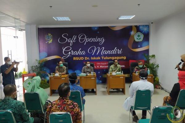 RSUD dr. Iskak Gelar Soft Opening Gedung Baru, Khusus Untuk Pasien Non-COVID-19