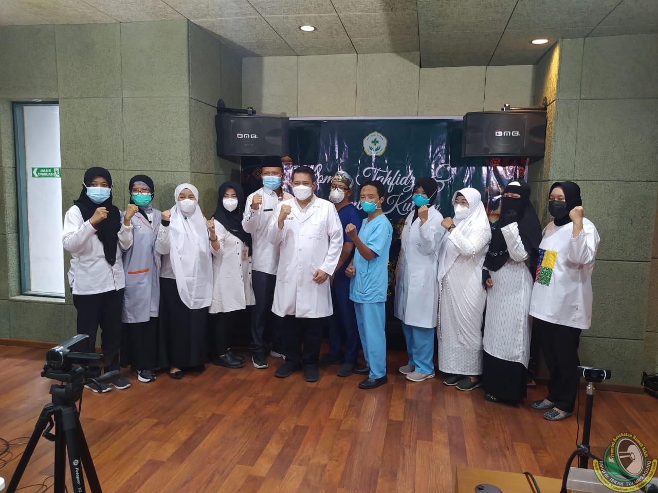 Kembangkan Jiwa Dakwah, Lomba Kultum Internal Nakes dan Karyawan RSUD dr. Iskak Masuki Babak Final