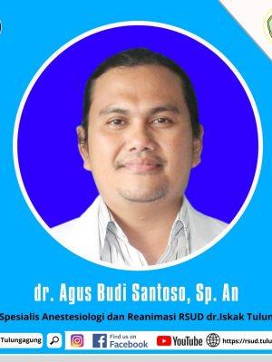 dr. AGUS BUDI SANTOSO, Sp.An