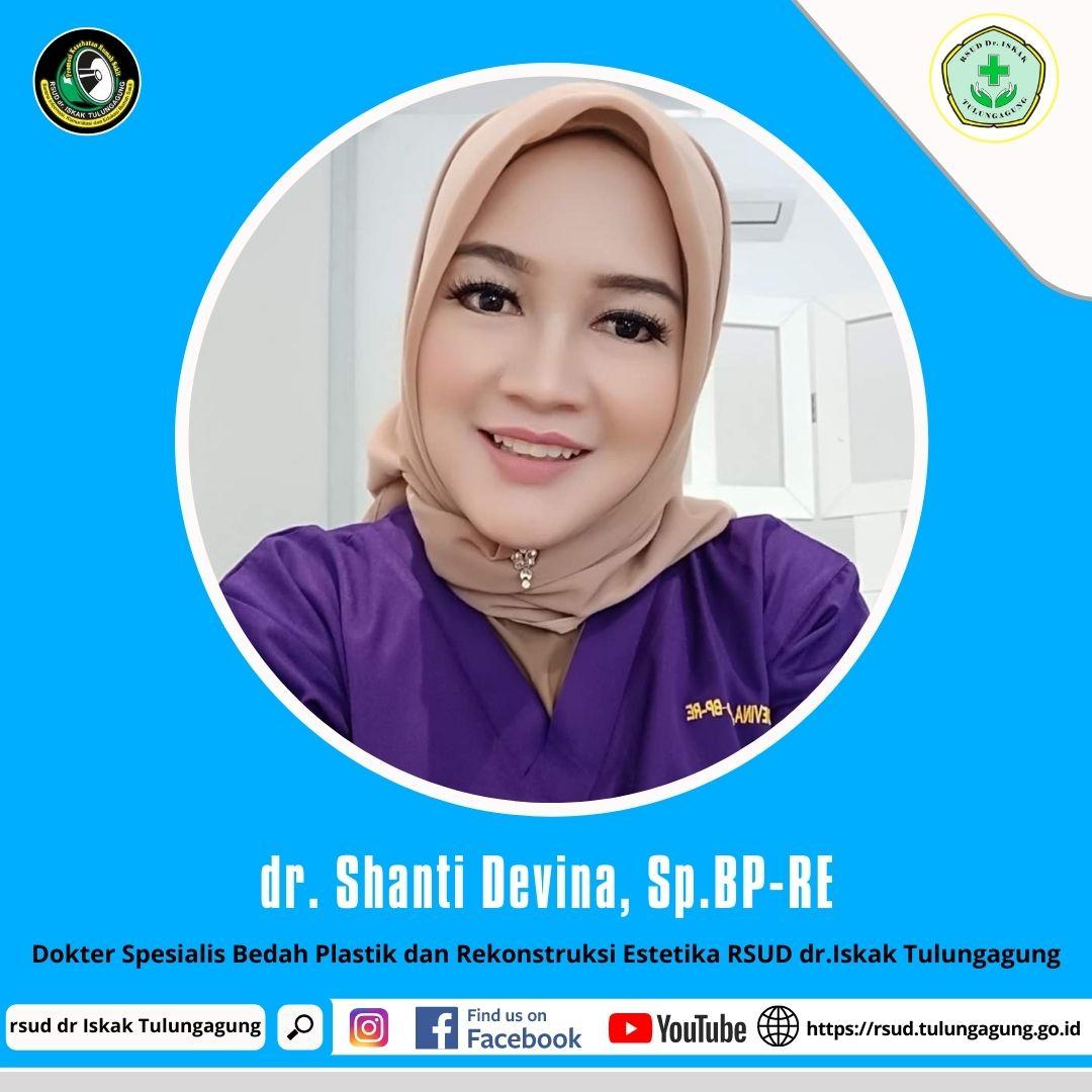 dr. SHANTI DEVINA, Sp.BP-RE