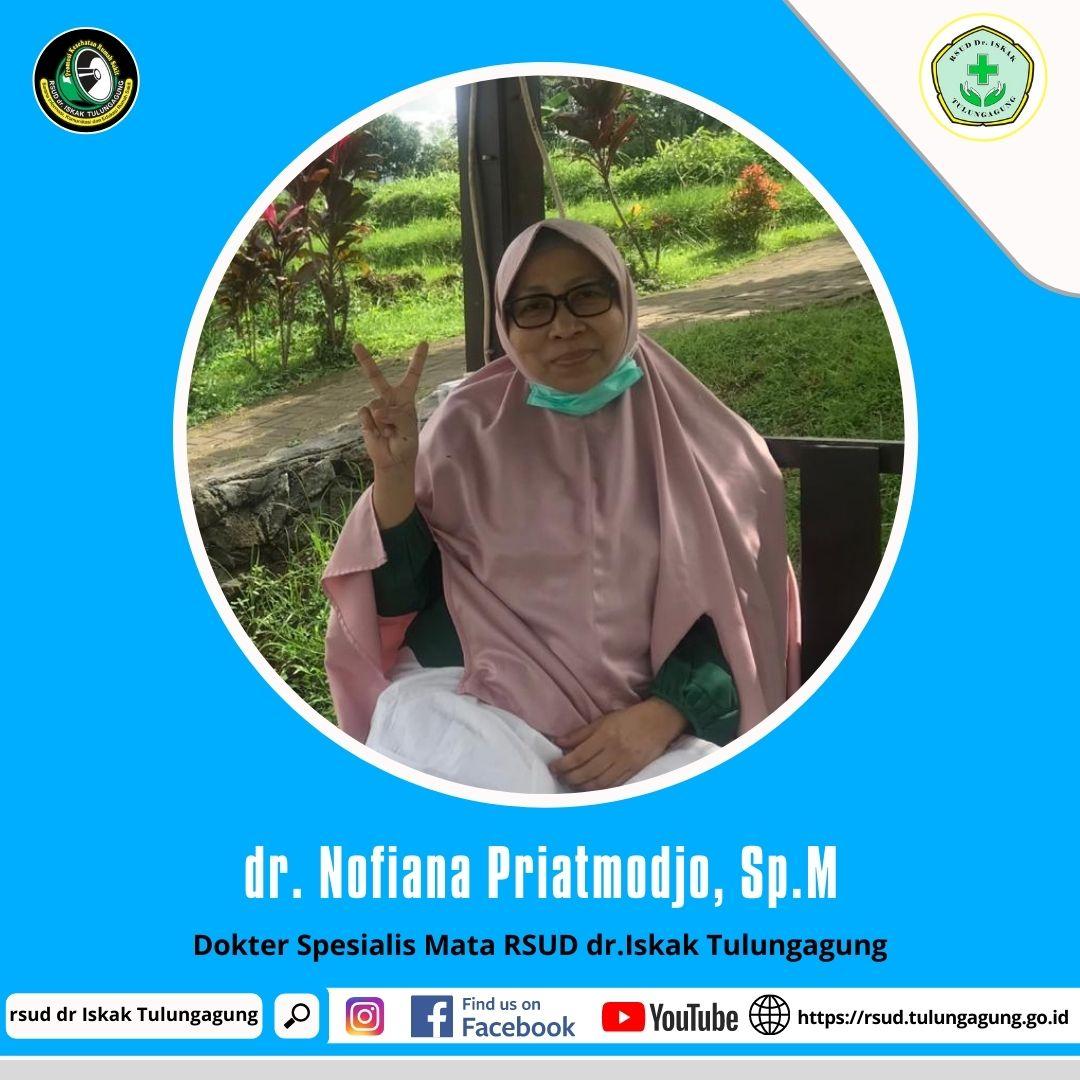 dr. NOFIANA PRIATMODJO, Sp.M