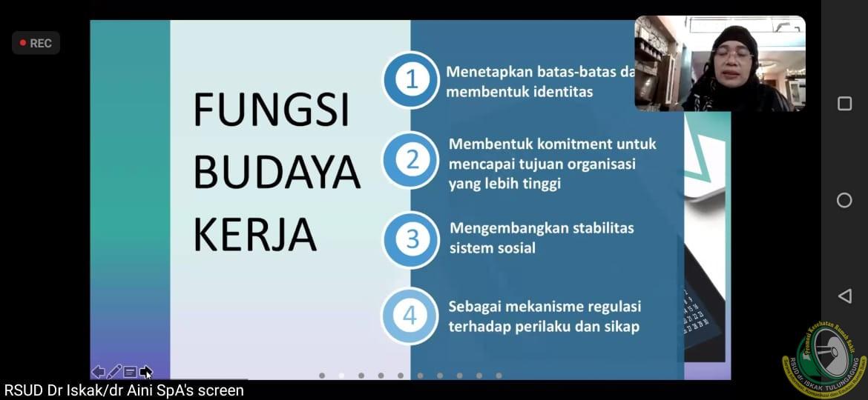 Minimalkan Risiko KTD, RSUD dr. Iskak Gelar Sosialisasi Peningkatan Budaya Keselamatan Pasien