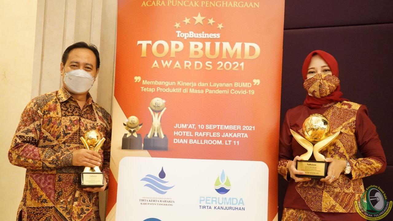 Sukses Bawa RSUD dr. Iskak Raih Predikat BUMD Terbaik Nasional, Dokter Pri Dinobatkan sebagai TOP CEO 2021